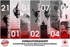 #UNSALTOINAVANTI: il mondo del Freestyle per la Croce Rossa Italiana