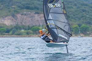 Tre titoli italiani giovanili disciplina Foil per il Circolo Surf Torbole