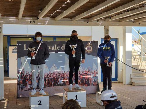 Adriatico Wind Club sul podio di Coppa Italia Techno 293 con Forani e Gamberini