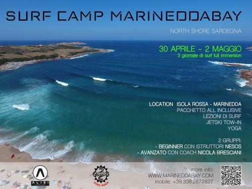 SurfCamp alla Marinedda: stage con il coach Nicola Bresciani