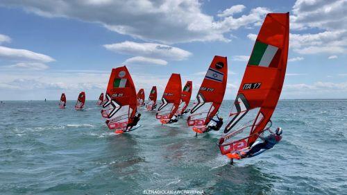Al Memorial Ballanti-Saiani di Ravenna il Circolo Surf Torbole va a podio in tutte le classi