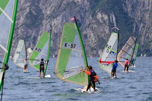 Conclusa a Torbole la 2^ tappa di Coppa Italia Techno 293